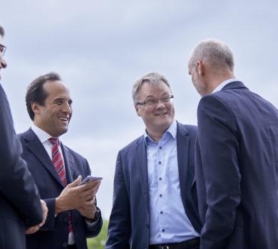 Consileon Management Team mit Geschäftsführer Joachim Schü