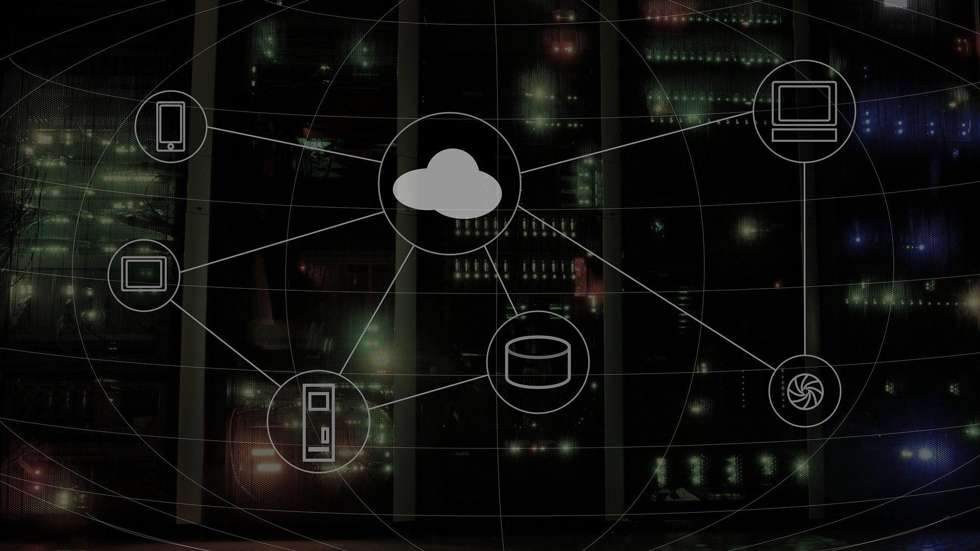 Cloud-Computing Grafik