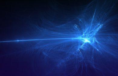 Bild von Blauen Lichtern
