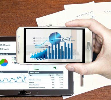 Datenanalyse mit Graphen auf dem Handy, Tablett und Papier
