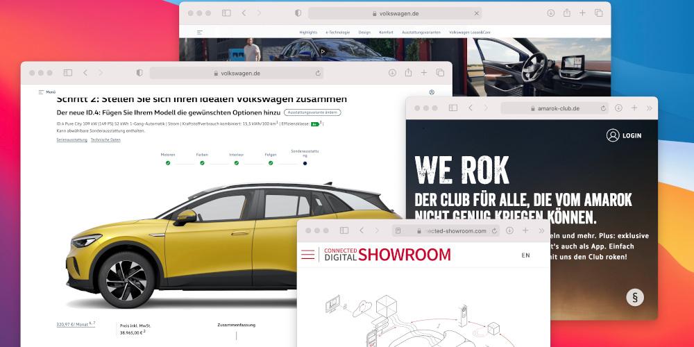 Produktentwicklung Automotive Digital Marketing von Consileon