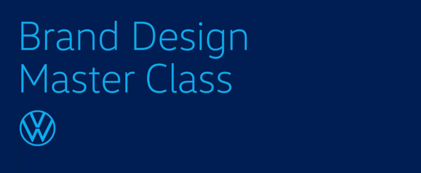 Grafik für VW Brand Design master Class