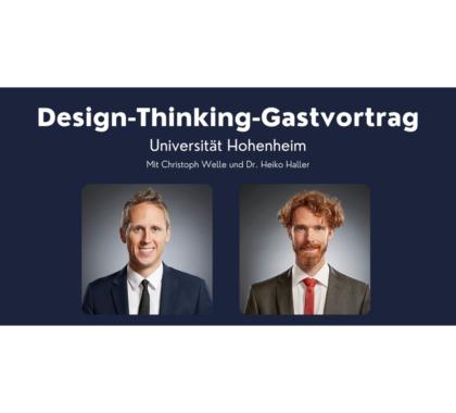 Design-Thinking-Gastvortrag Uni Hohenheim